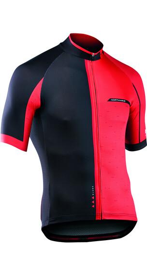 Northwave Blade 2 Koszulka kolarska Mężczyźni czerwony/czarny